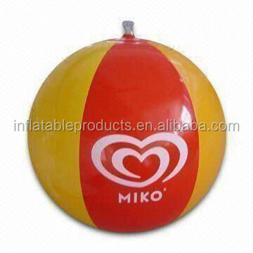 inflatable pvc water ball
