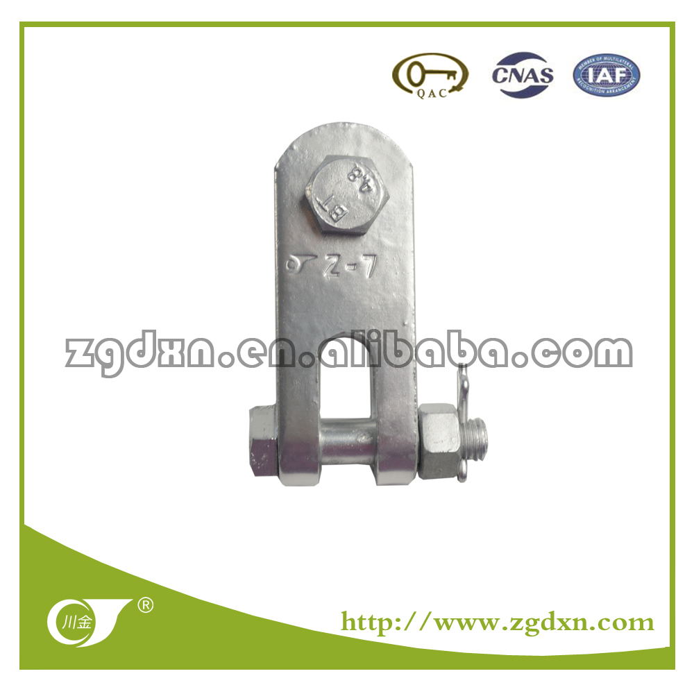 2017 Sichuan Zigong Best Selling Clevis & Tougue Z-7 Right Angle Hung Plates
