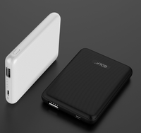 New design cheap OEM 5000mah smallest power bank with CE ROSH FCC and FOC power bank
