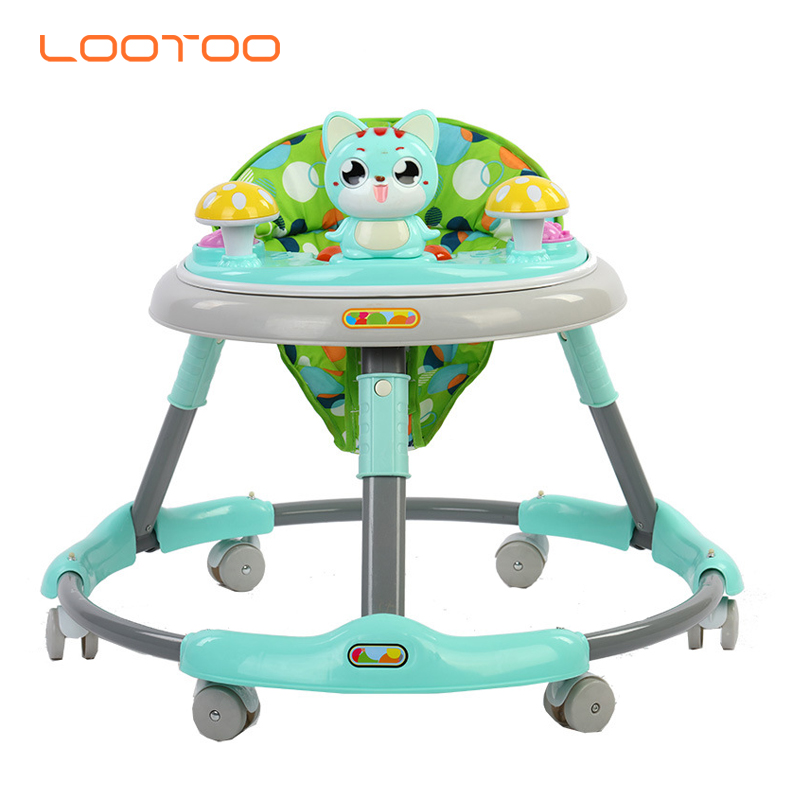 Alibaba china factory wholesale cheap price plastic educational toy Baby walking chair