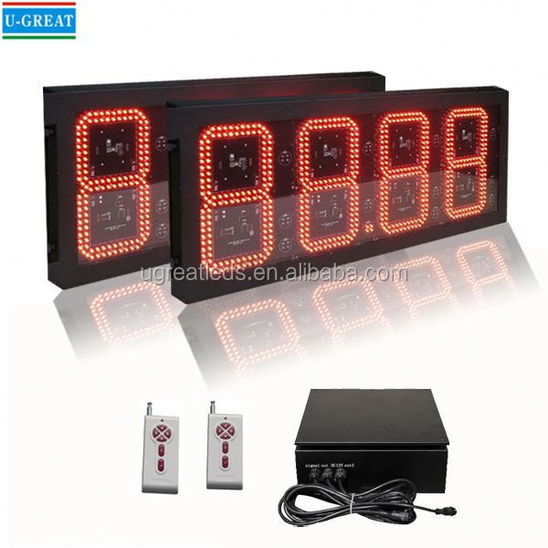Spanish aliexpress RF waterproof big size open signs with price oem lowest price oled display