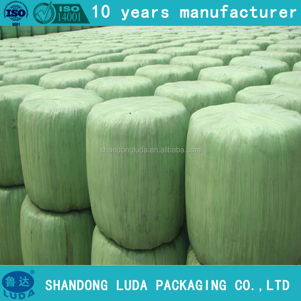 500mm x 25mic Green LLDPE Agriculture Silage Stretch Film