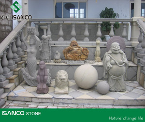 Chinese manufacture supply Grey sandstone Figurine for long term