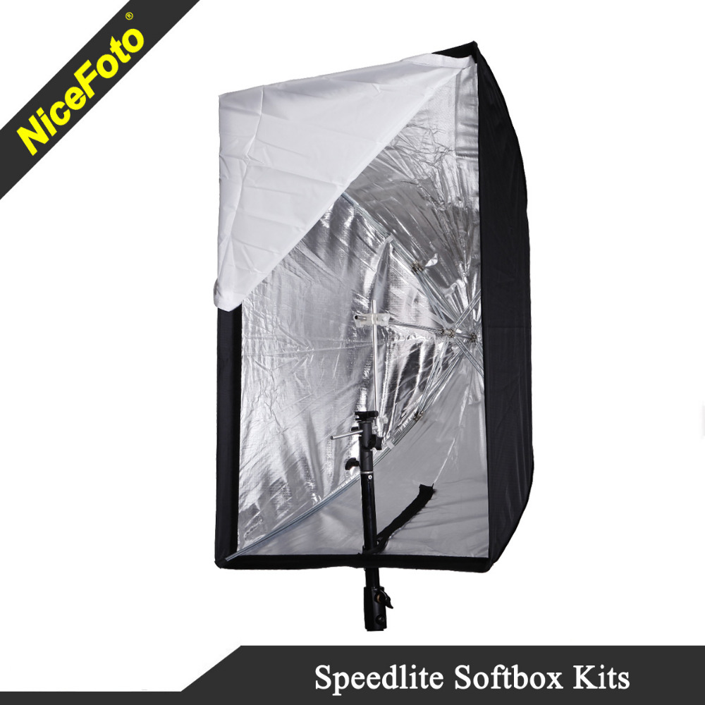 NiceFoto Speedlite accessories, Speedlite softbox, speedlight softbox
