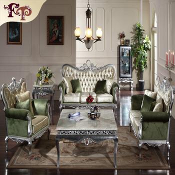 Neue Klassische Möbel-wohnzimmer Möbel Holz Sofa Set - Buy New ...