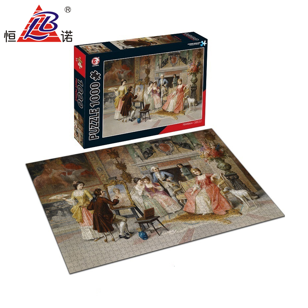 1000PCS Jig Saw Puzzles For 2019 Personalised Puzzles <strong>Para</strong> Adultos With HR4040