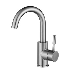 Fancy European Bathroom Single Lever Basin Mixer Waterfall Faucets