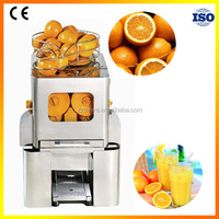 Low price stainless steel automatic electric orange juicer,commercial orang juice machine