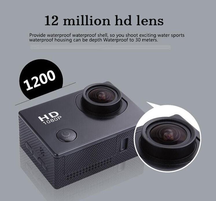 Mini Videocamaras Gopro  Estilo Full HD DVR SJ4000 Deporte Del Video Camara Go