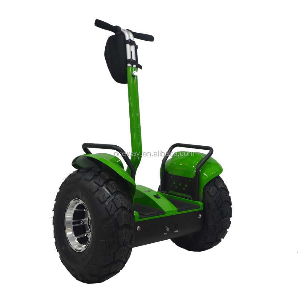 Lithium battery 2 wheel chariot off road scooter electric 1000w