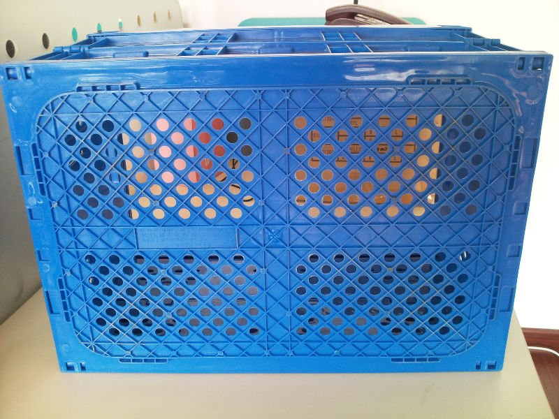 Collapsible Plastic Storage Box Folding Plastic Box Folding Crate   Buy  Plastic Tall Storage Boxes,Folding Crate For Meat,Collapsible Storage Crate  For ...