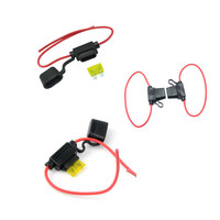 Auto Electric Inline Car Mini Blade Fuse Waterproof 12AWG 30A 12V/24V/32V Fuse Holder