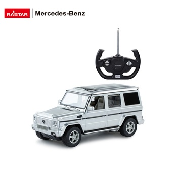 RASTAR wholesale toy Mercedes car bright lights remote control big plastic car model