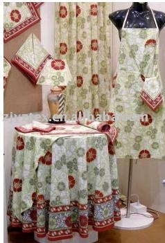 Apron And Table Cloth