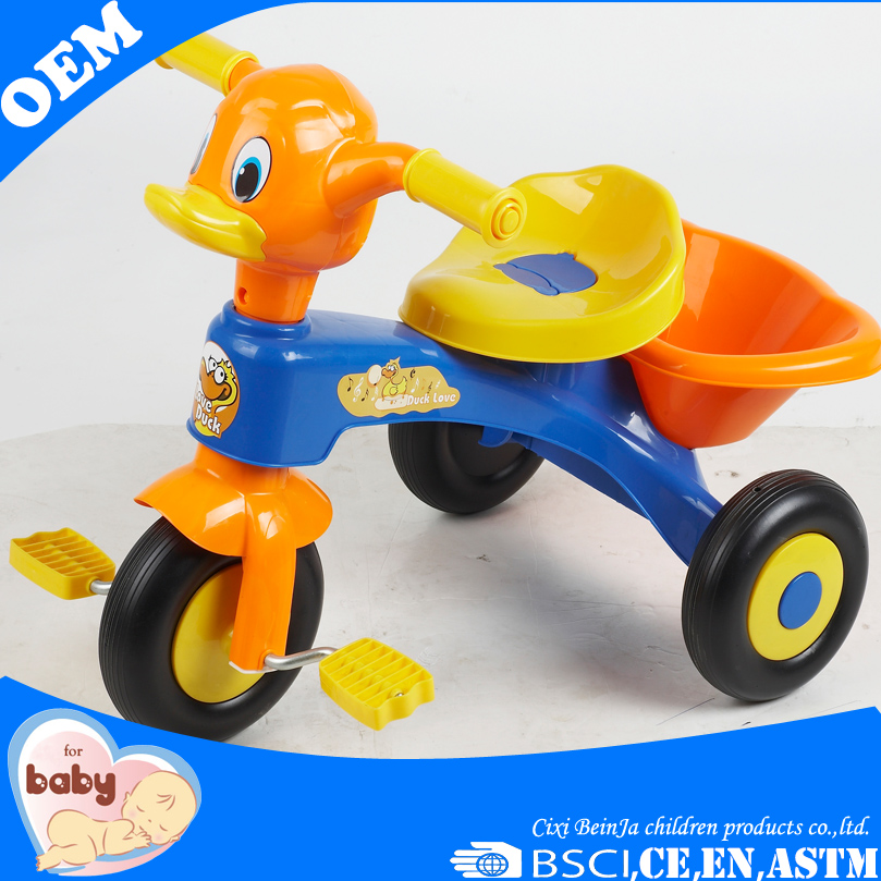 China supplier Baby ride on toy car kids Trikes safety plastic metal baby tricyle