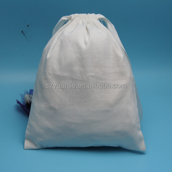 Hot selling promotional elegant cotton drawstring <strong>rice</strong> packing bag