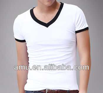 Product Camiseta Hombre Deep Llanura Blancas Moda Camisetas On Custom Blanca Cuello V Buy 54R3LAjq