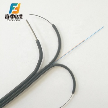 Ftth Drop Flat G657A Single Core Fiber Optic Cable Manufacturers