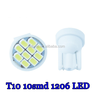 T10 194 168 1206 10 SMD 10 LED LED Lights Super Led Bulb Indoor Lighting Instrument Led Buib 12V