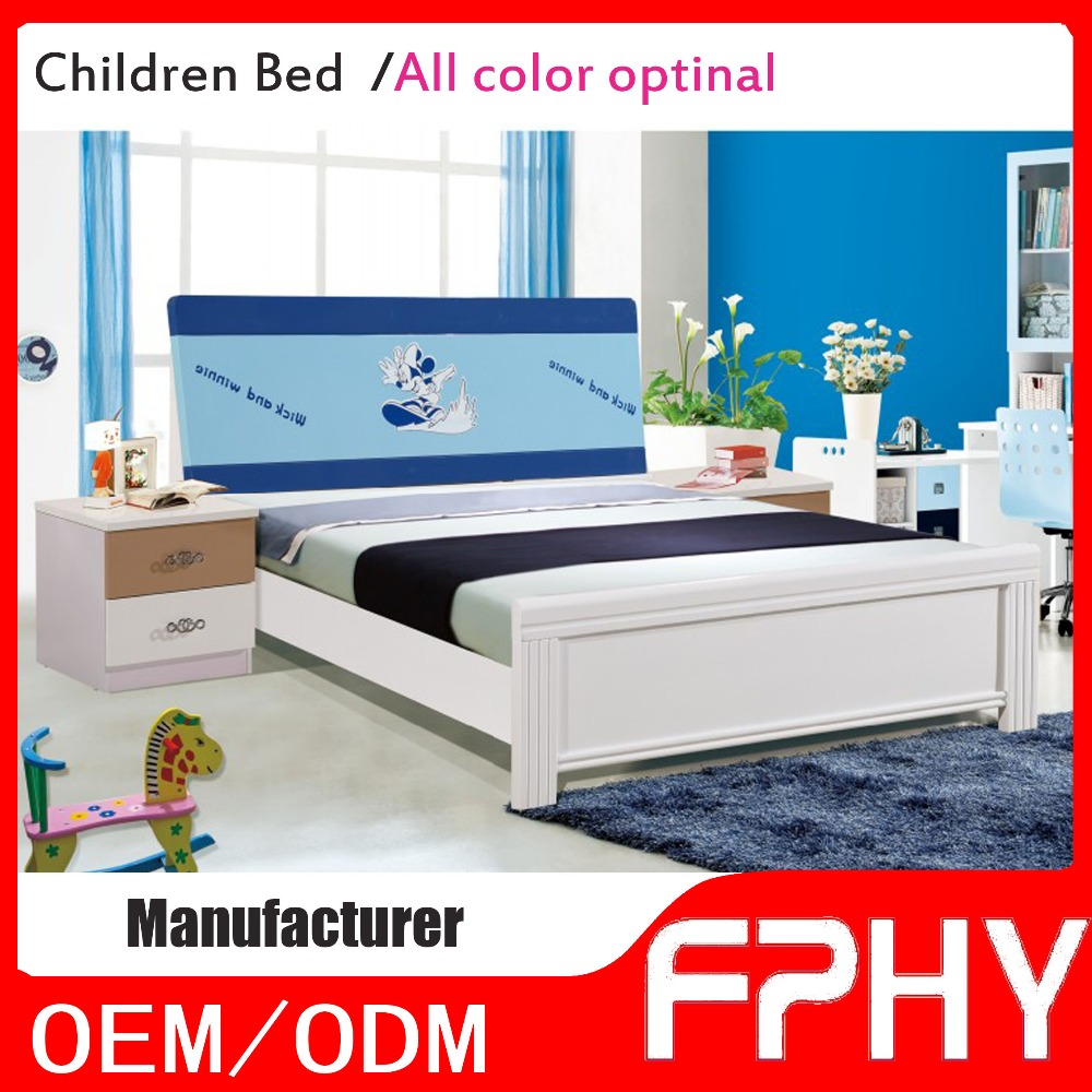 FPHY Amazing Customized Cartoon MDF Modern Bedroom Furniture For Kids Room