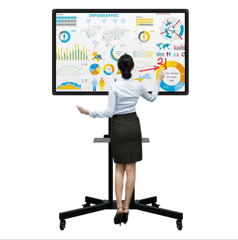 50/55/65/75/85 inches windows/android systeem touch screen whiteboard onderwijs interactieve whiteboard vergadering digitale whiteboard