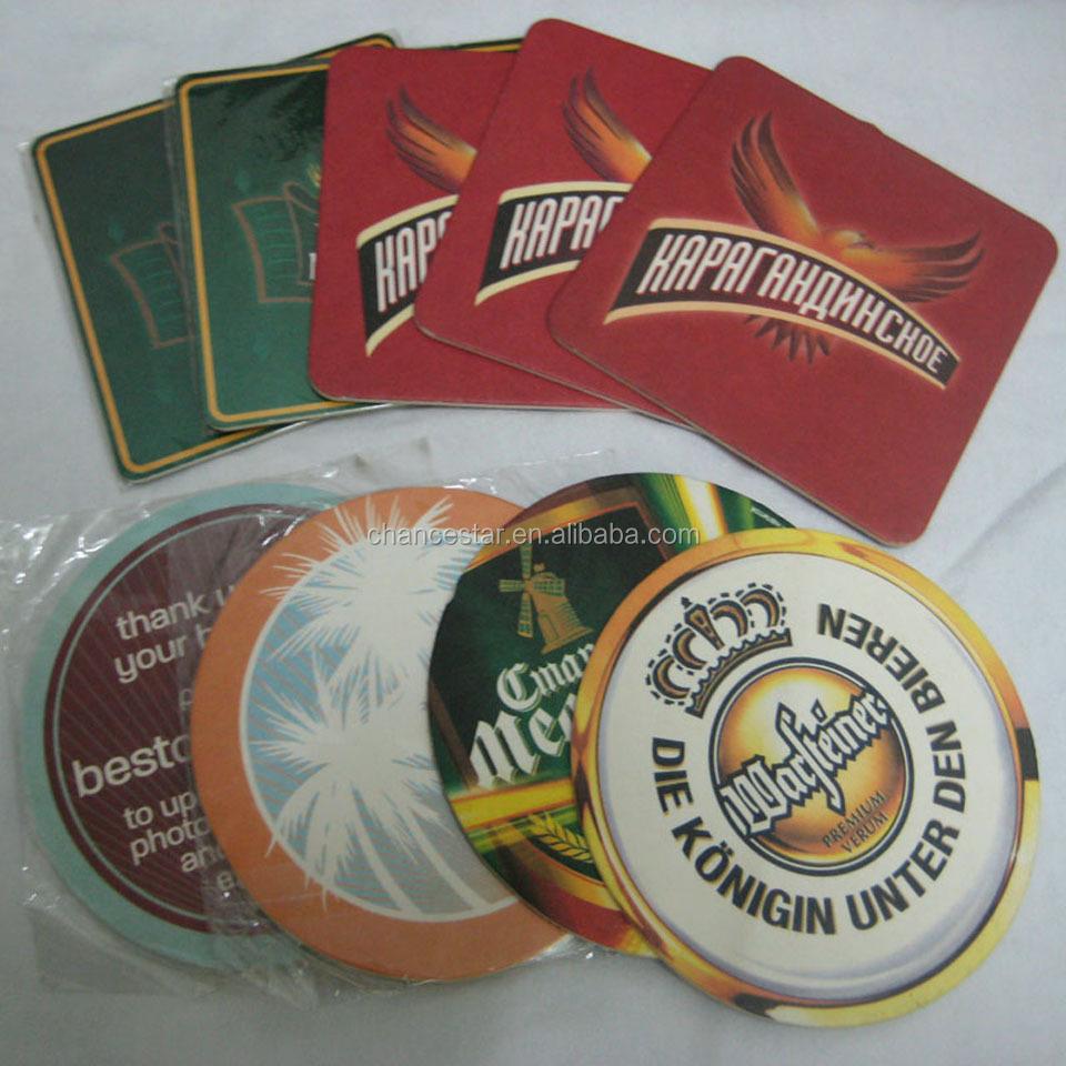 Custom absorbent paper coffee coasters beer coasters buy custom paper beer coasters absorbent - Cardboard beer coasters ...