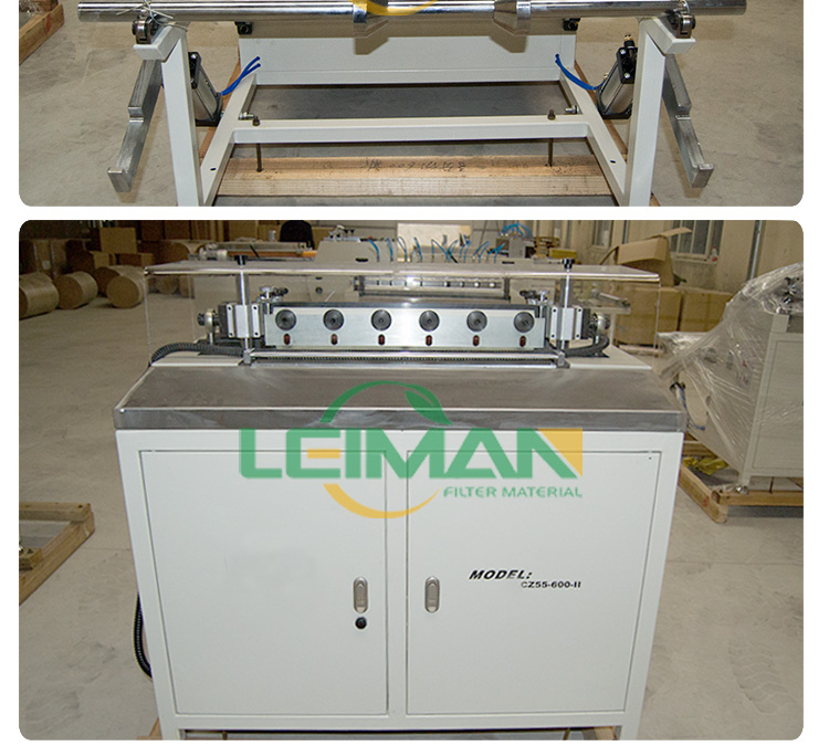 Truck air filter making auxiliary machine PLWS-950 HDAF horizontal gluing machine