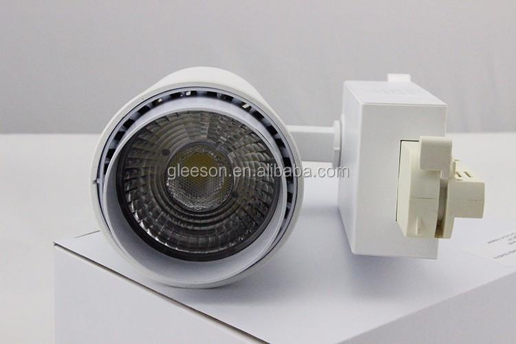 Aluminum 25 Degree 3000-6500k Rail Led Track Light 25w Indoor ...