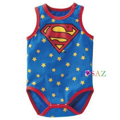 ... Летом новорожденного унисекс Супермен хлопок Детские трико мультфильм  принцесса младенца девочек костюм Бэтмен детские комбинезон baby ... 782926982bba1