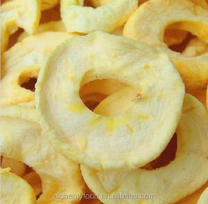 Supply pure snack air dried apple chips, fruit market prices apple