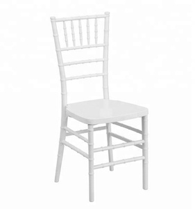 Wedding and event use resin chiavari chair