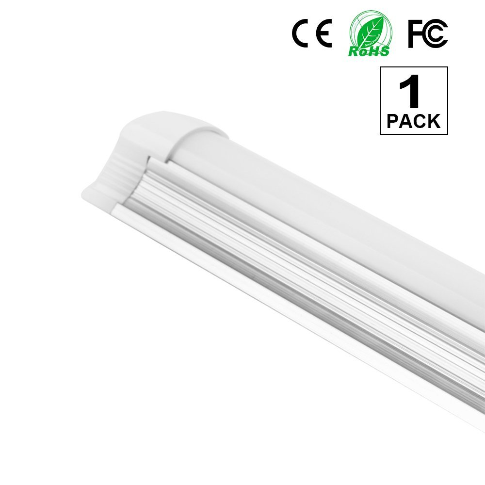 DL343 T8 4Ft Fluorescent 3 Lamps Grow Lighting System with 10000 Lumens and