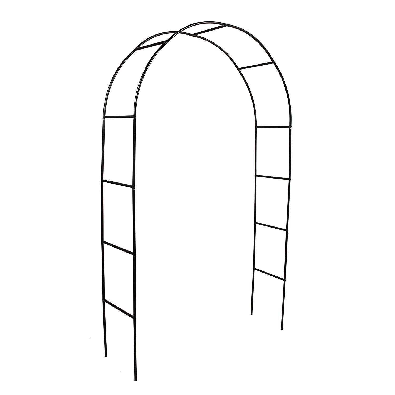 """Better Garden Steel Garden Arch, 7'8"""" High x 4'5"""" Wide, Garden Arbor for Various Climbing Plant, Outdoor Garden Lawn Backyard"""