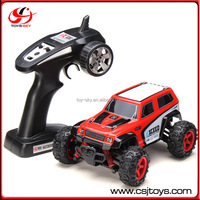 1/24 Scale 2.4G RC Remote Control Car Max Speed 40Km/h Buggy Race Car 4WD Anti-Shock Bruff Destory Off-Road truck toy
