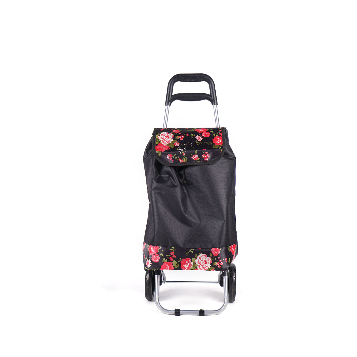 Customized folding personal shopping trolley bag used by old people shopping cart