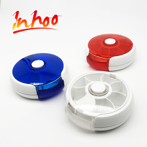 2017 China Factory 7 Days Round Shape Automatic Pill Dispenser
