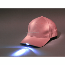 Professional Led Light Baseball Cap Lamps Glow In The Dark Hat