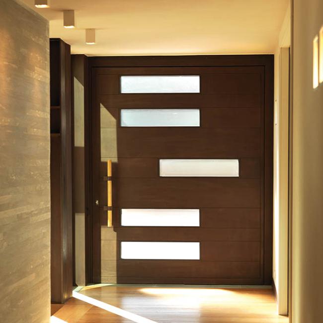 Best Exterior Home Design 2017: 2017 New Design Best Price Exterior Used Solid Pivot Wood
