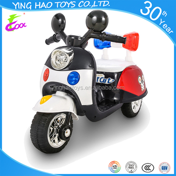 Newest baby mini toy 6v battery-operated ride on motorcycle with 3wheels
