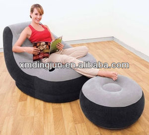 air lounge sofa bed, indoor inflatable sofa chair,living room inflatable air chair sofa