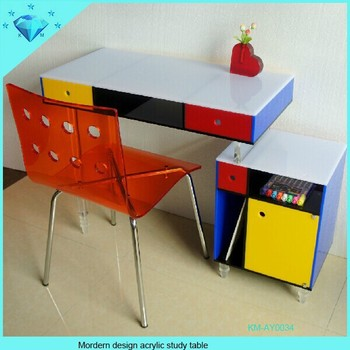Great Acrylic Office Furniture Table Cover Designs Computer Desk