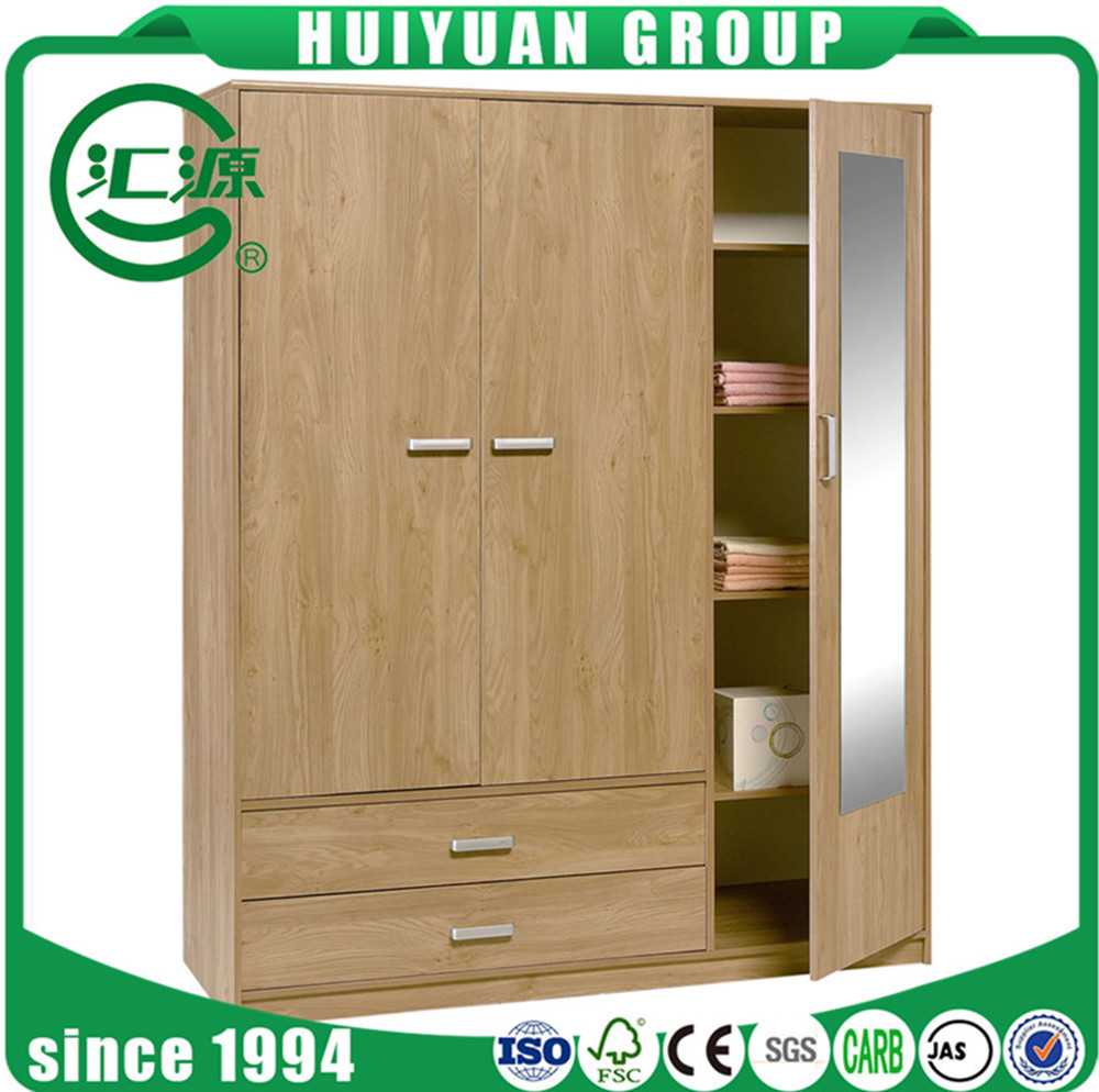 Home Furniture Wood Almirah Designs 4 Door Wardrobe Cabinet Cheap Modern  Mirrored Bedroom Mdf Wardrobe