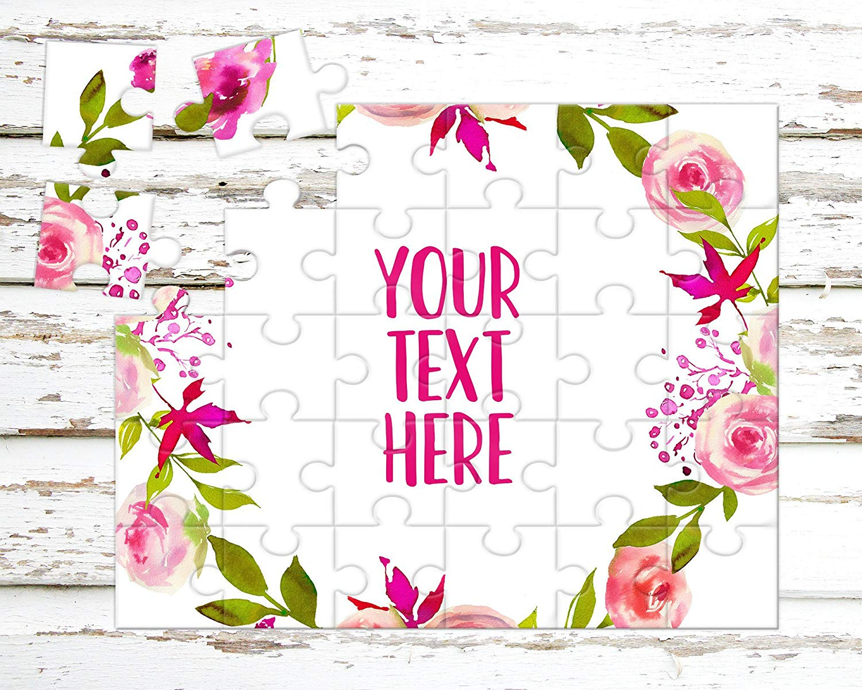 Announcement Ideas CYOP0013 Wedding Announcement Create Your Own Puzzle Custom Puzzle Pregnancy Announcement Personalized Puzzle
