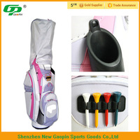 color mixing embroidery logo pink stand golf bag