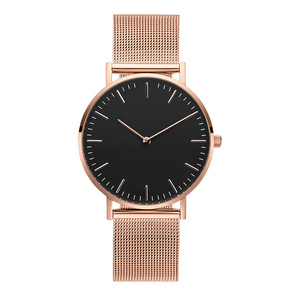 Top 10 men genuine minimalist leather watch