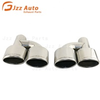 JZZ High Quality exhaust Silencer tips for Amg Stainless Steel muffler pipe for Mercedes