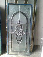 hollow Stained Glass Beveled Suncatcher