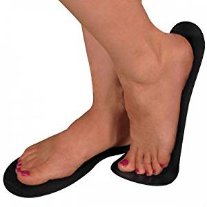 Spray Tan Sticky Feet Foot Protectors - 200 Count (100 Pairs) - BLACK