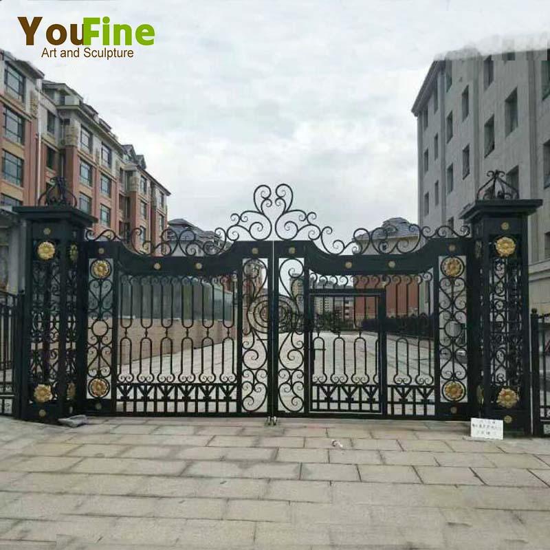 Modern Luxurious Craft Wrought Iron Gate Designs Buy Modern Iron
