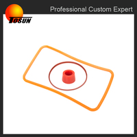 oil resistant silicone rubber gasket for bottle
